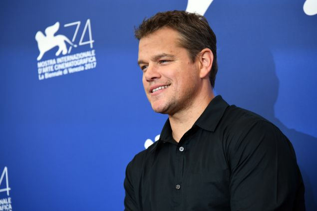 Matt Damon New Movie