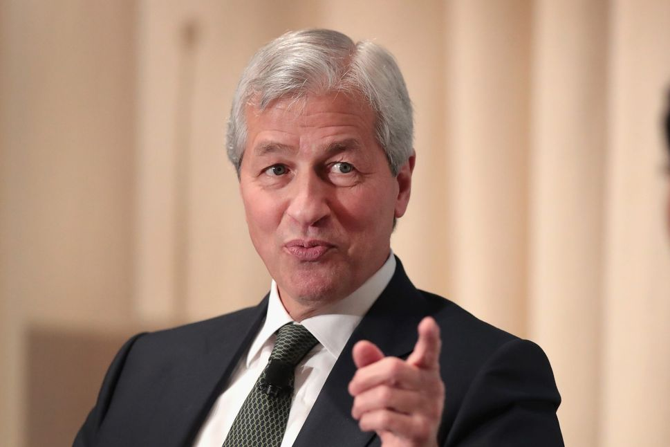 Jamie Dimon, CEO of JPMorgan Chase, the largest bank in the U.S.