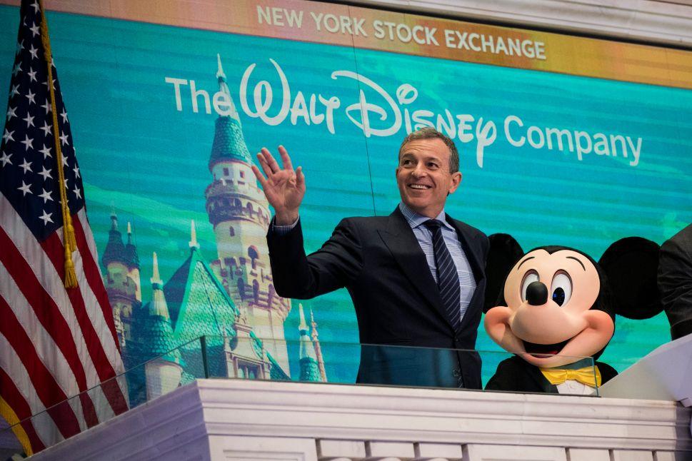 Disney Play Netflix Bob Iger