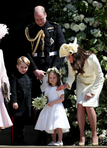 Prince George and Princess Charlotte will be in Princess Eugenie wedding party