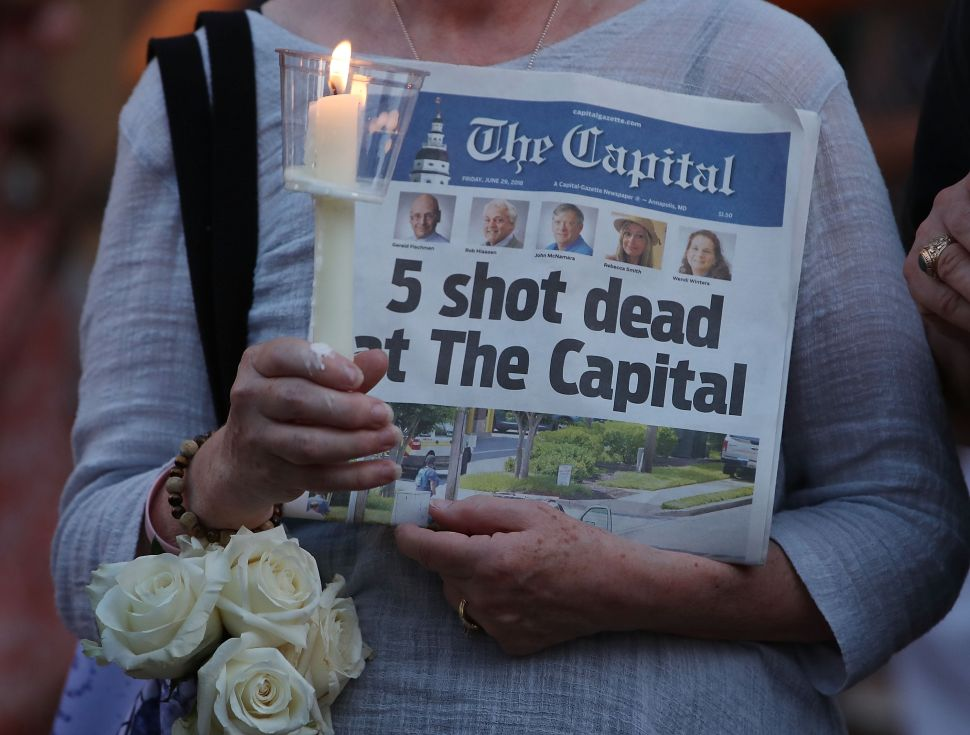 Even survivors of the Capital Gazette mass shooting aren't safe from Reddit trolls.