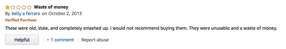 Amazon Candy Corn Review: 'Unusable' seems somewhat harsh... didn't someone mention candy corn could be used for art projects?