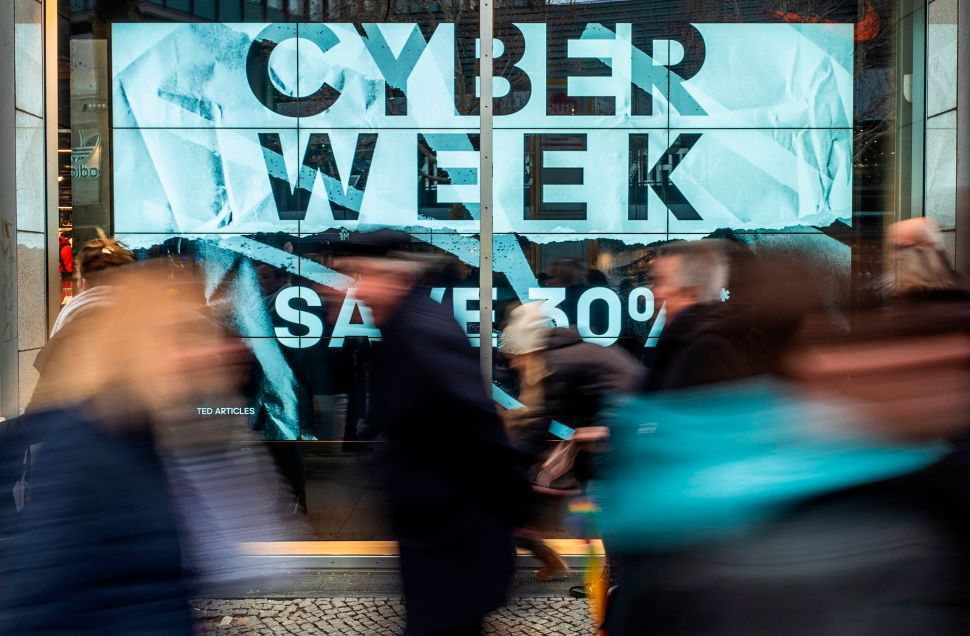 Both Black Friday and Cyber Monday this year saw record online sales.