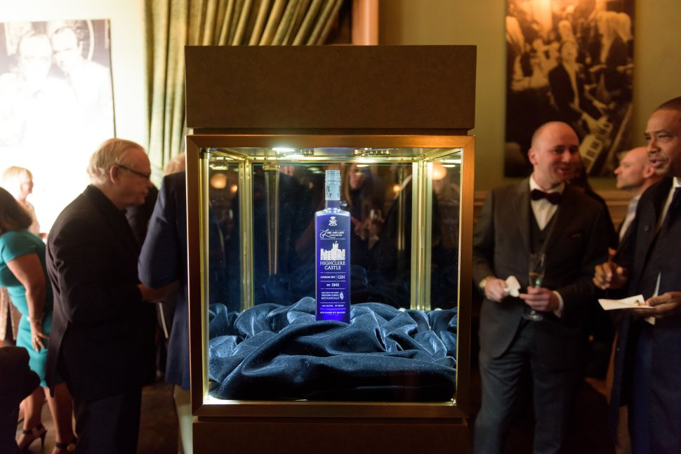 Highclere Castle Gin debuted in New York on November 14.
