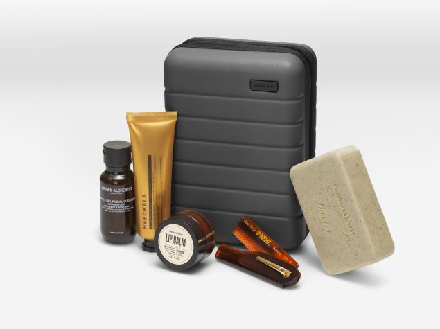 Away Travel grooming kit