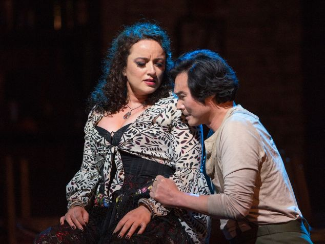 Clémentine Margaine in the title role and Yonghoon Lee as Don José in Bizet's 'Carmen'.