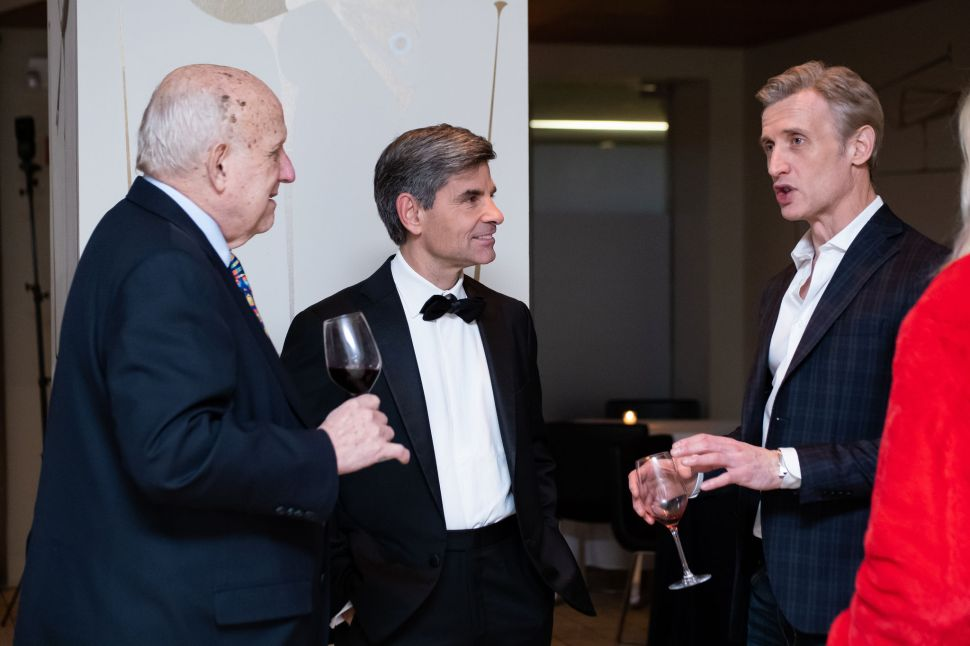 Floyd Abrams, George Stephanopoulos and Dan Abrams in conversation