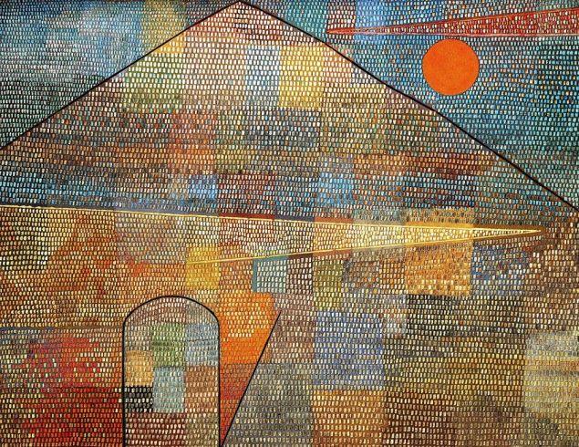 Paul Klee, Ad Parnassum, 1932.