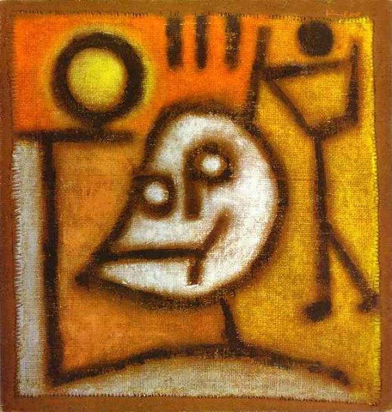 Paul Klee, Death and Fire, 1940.