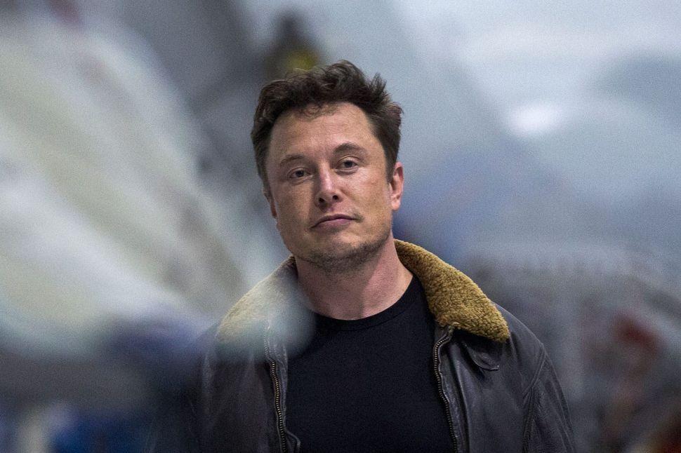 Elon Musk best CEO of 2018
