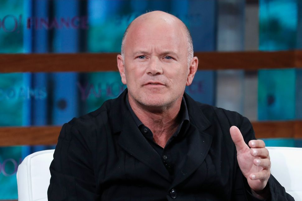 Mike Novogratz still believes in the future of cryptocurrencies, although it's unlikely we'll see another ICO frenzy like one in this time last year.