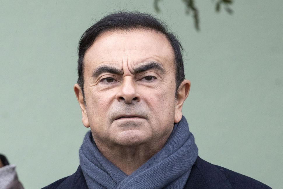 Carlos Ghosn, former chairman and CEO of Nissan Motor.