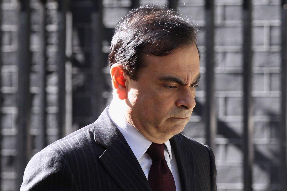 Carlos Ghosn, former chairman of Nissan Motor