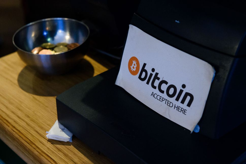 Bitcoin coffee shop