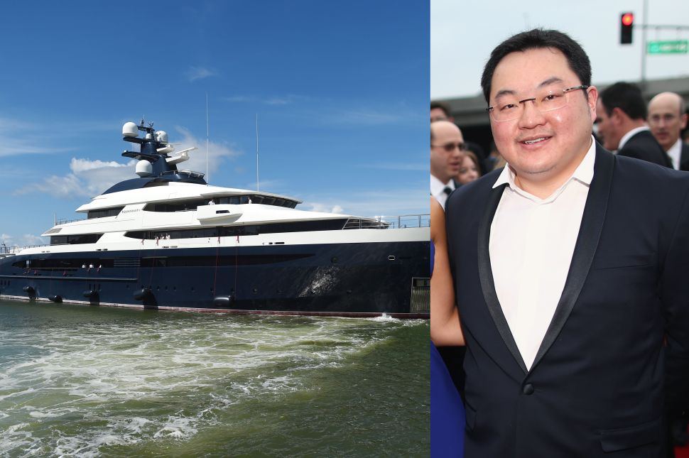 """""""Equanimity"""" vessel and Jho Low"""