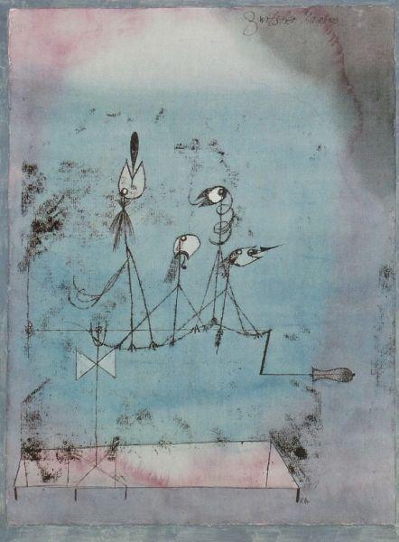 Paul Klee, Twittering Machine, 1922.