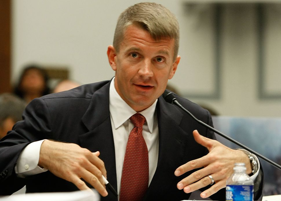 Erik Prince, chairman of the Prince Group, LLC and Blackwater USA.