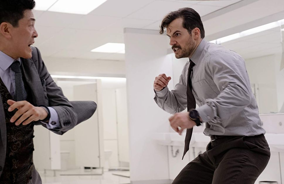 Henry Cavill Mission: Impossible Fallout Bathroom Fight Scene