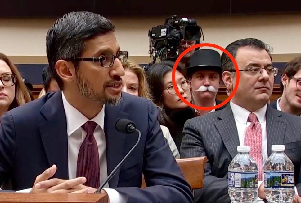 Google CEO Sundai Pichai hearing