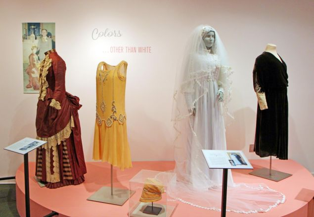 An exhibition at the now defunct American Textile History Museum.