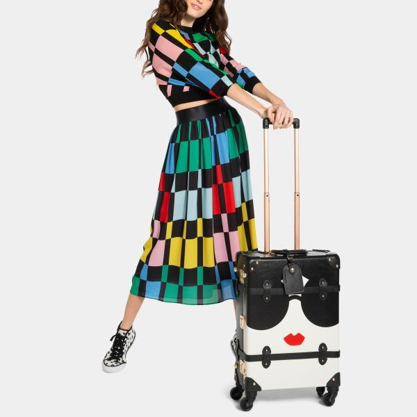 Courtesy Alice + Olivia x SteamLine Luggage