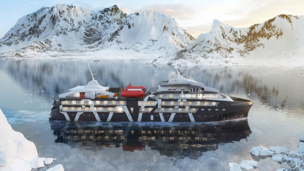 Antarctica21's Magellan Explorer will be home to Anytime Fitness' most chilly location.