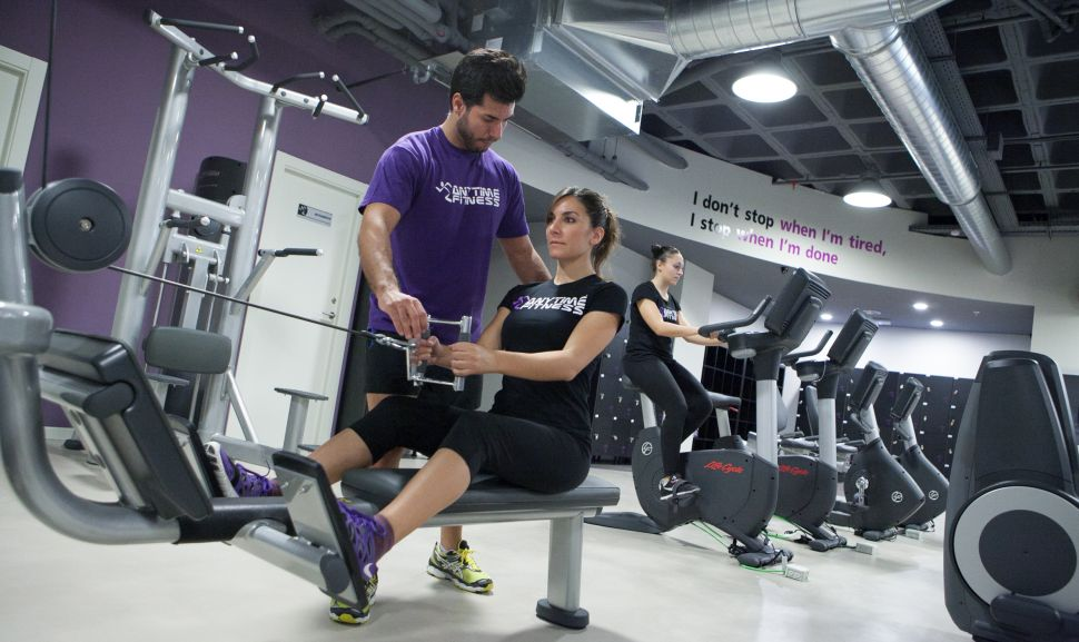 Get fit with Anytime Fitness anywhere... literally.