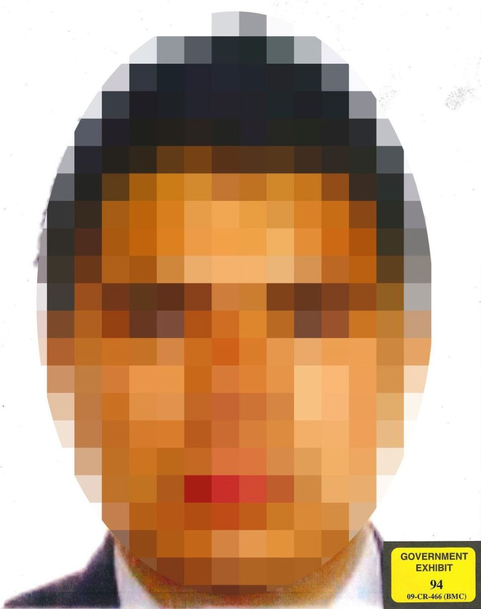 A pixelated photo of Christian Rodriguez was released by prosecutors to protect his identity.