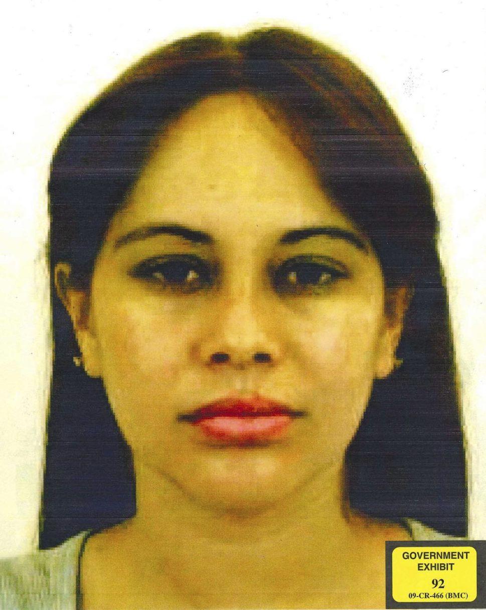 Lucero Guadalupe Sanchez Lopez, El Chapo's mistress.