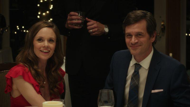 Rachel Boston and Tom Everett Scott in I Hate Kids.