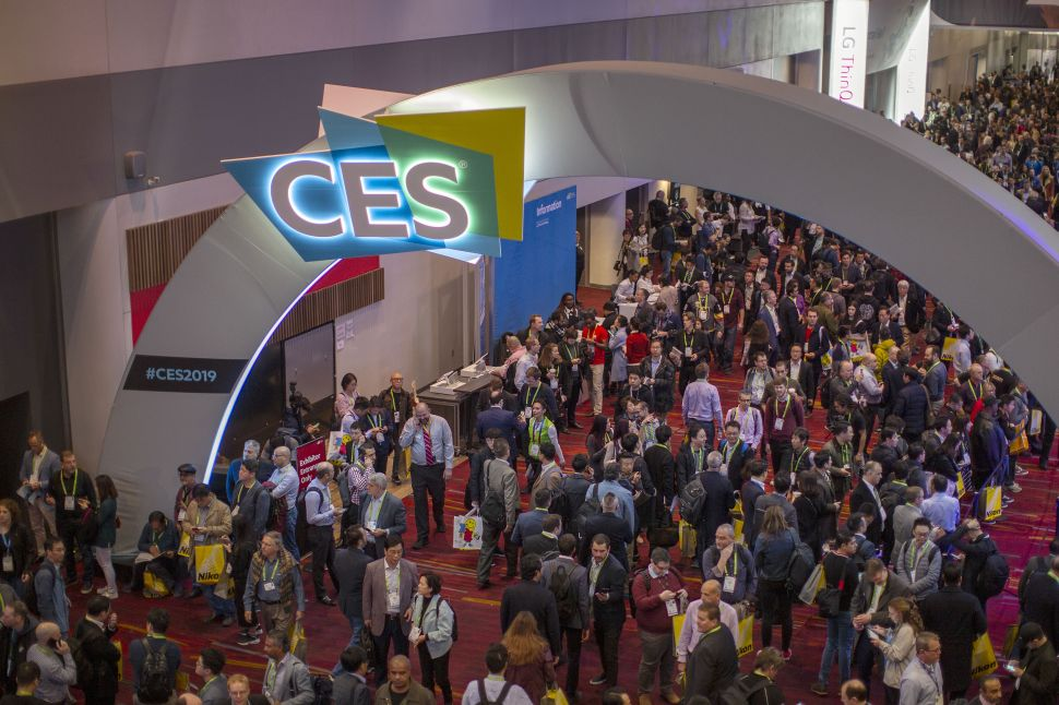 CES 2019 Convention Center in Las Vegas on January 8, 2019.