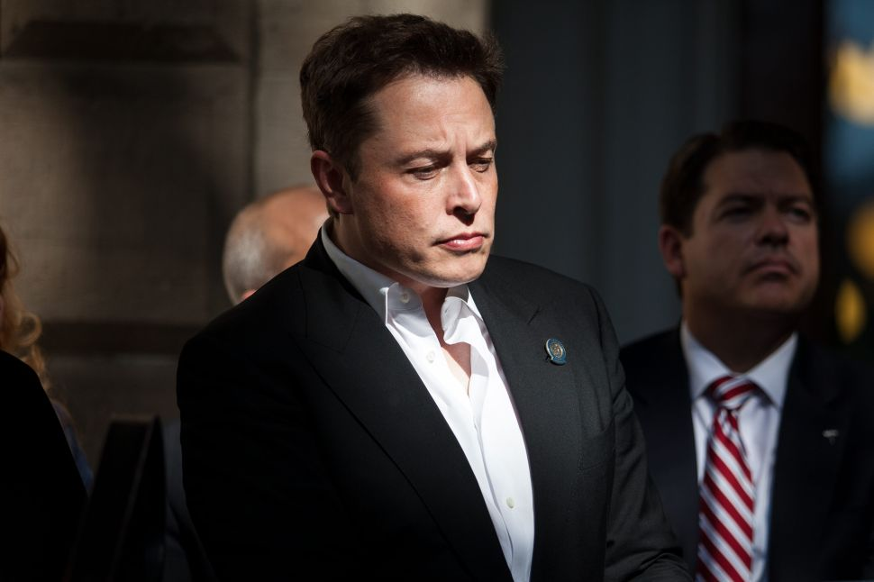 At the end of Elon Musk's SEC saga last year, he agreed to step down as Tesla's board chairman.