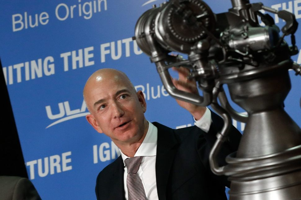 Blue Origin recently entered the satellite-based internet business, directly competing with Elon Musk's SpaceX.