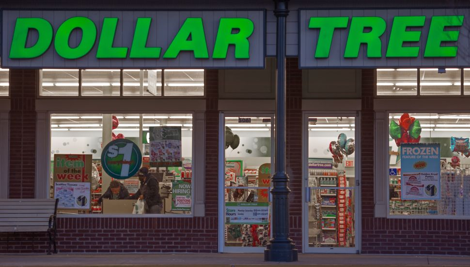 Dollar Tree is under pressure from both President Trump and new investors.