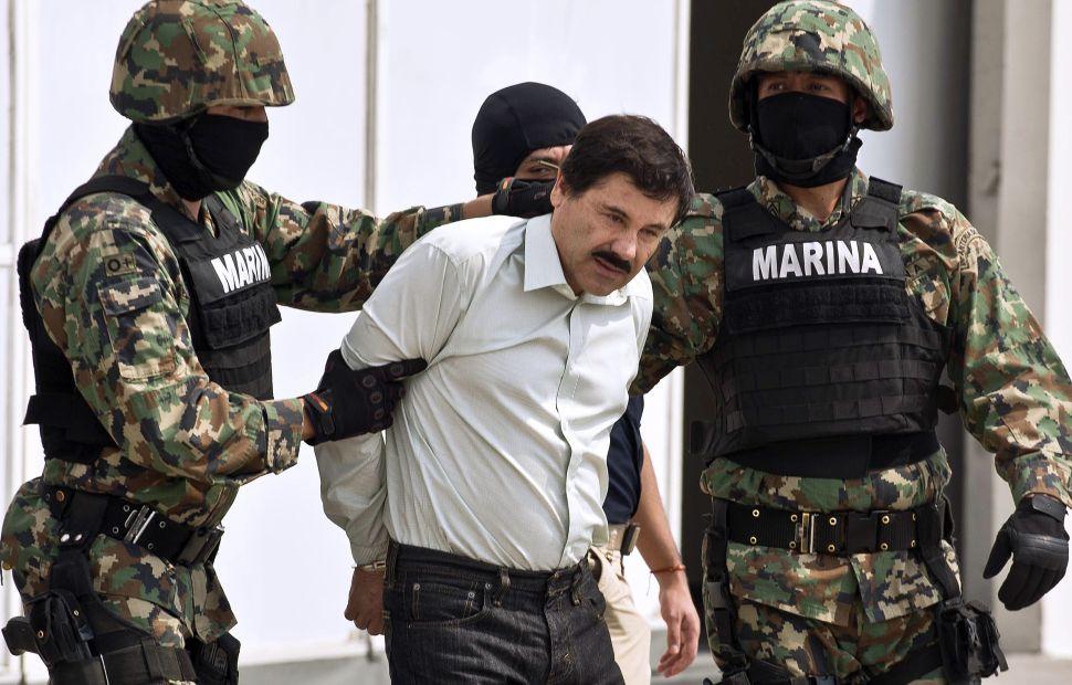 "Mexican drug trafficker Joaquin ""El Chapo"" Guzman."