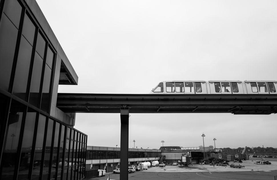 The Newark AirTrain.