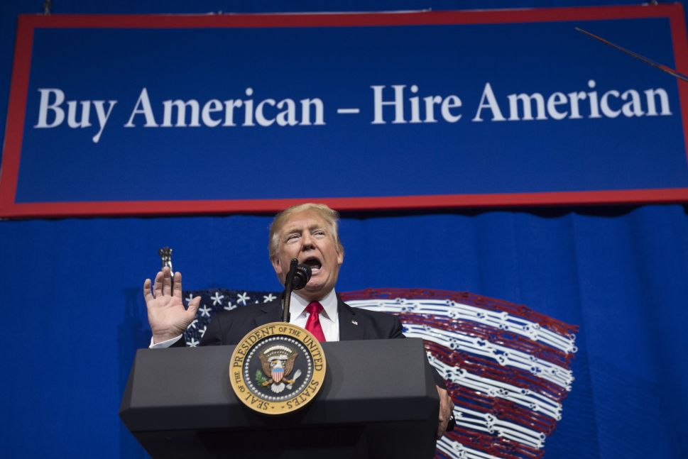 Trump has been a vocal critic of the H-1B program throughout his presidency.