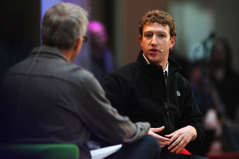 Mark Zuckerberg circa 2008, before his suit-and-tie days.