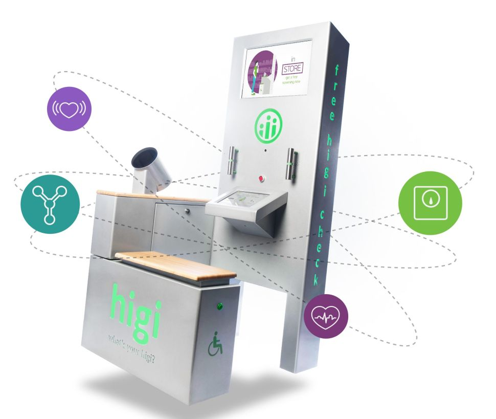 Tens of millions have used Higi health stations to conduct nearly 200 million biometric screenings.