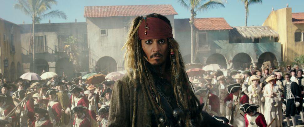 Disney Johnny Depp Salary Pirates of the Caribbean Reboot