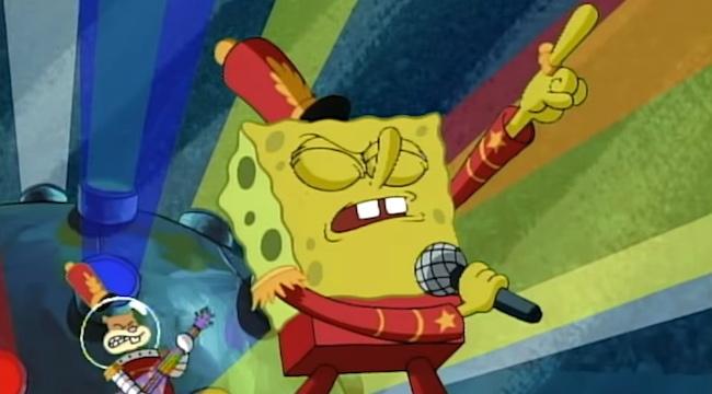 Super Bowl Half Time Show Maroon 5 SpongeBob SquarePants