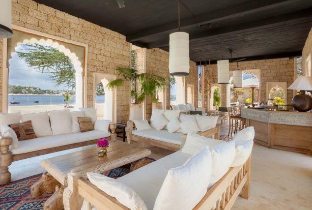 The bar at The Majilis.