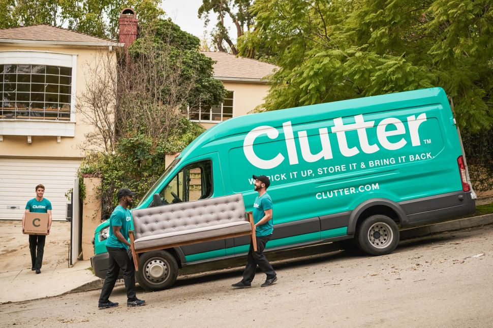 Clutter aims to disrupt a lucrative market dominated by UHaul, Public Storage and Extra Space Storage.