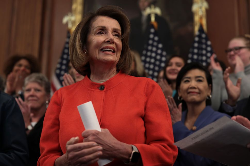 Speaker of the House Nancy Pelosi (D-Calif.).