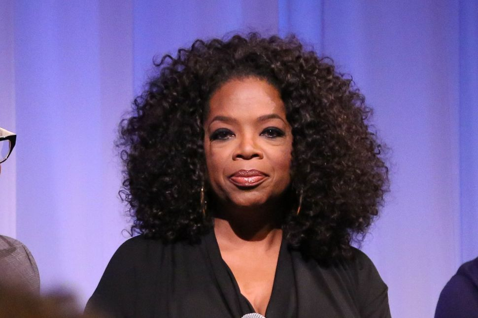 Oprah Winfrey's confidence in Weight Watchers is a key determinant of its share price.