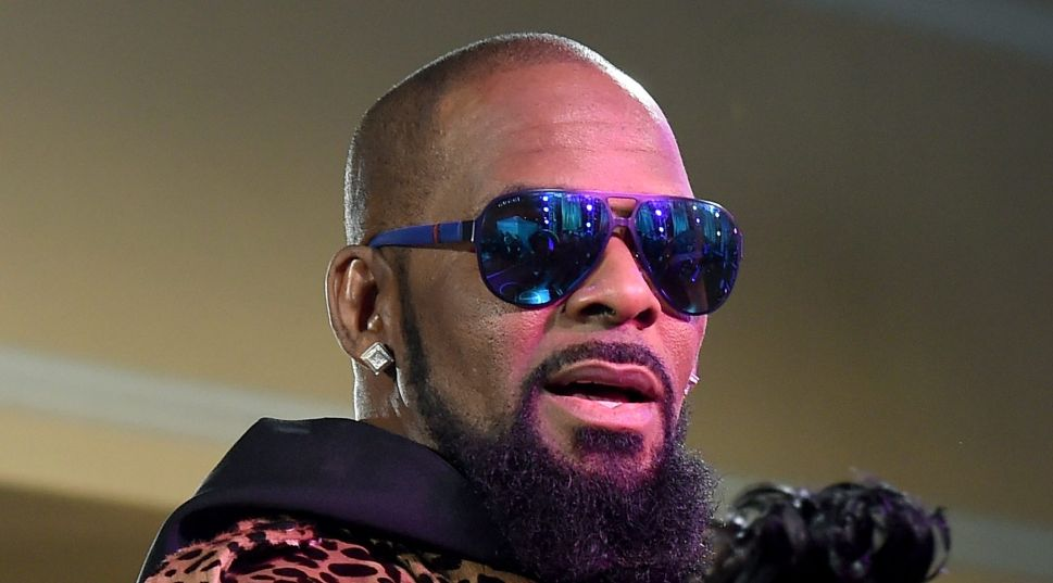 R. Kelly attends the 2015 Soul Train Music Awards in Las Vegas, Nevada.