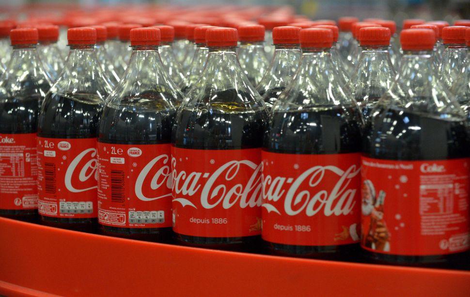 A Coca-Cola Entreprise bottling plant near Paris.