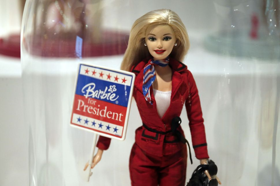 Sales of Barbie dolls remains strong despite the sluggish toy industry.