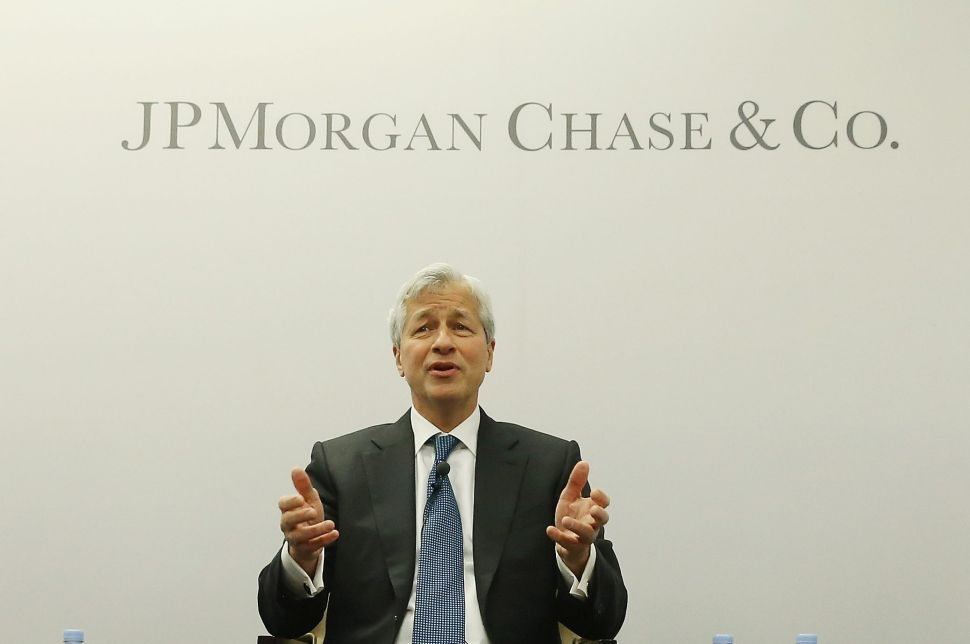 Jamie Dimon, chairman and CEO of JPMorgan Chase, the largest bank in the U.S.