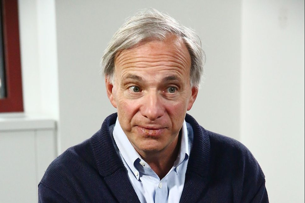 Ray Dalio's hedge fund firm Bridgewater Associates manages over $100 billion in assets.